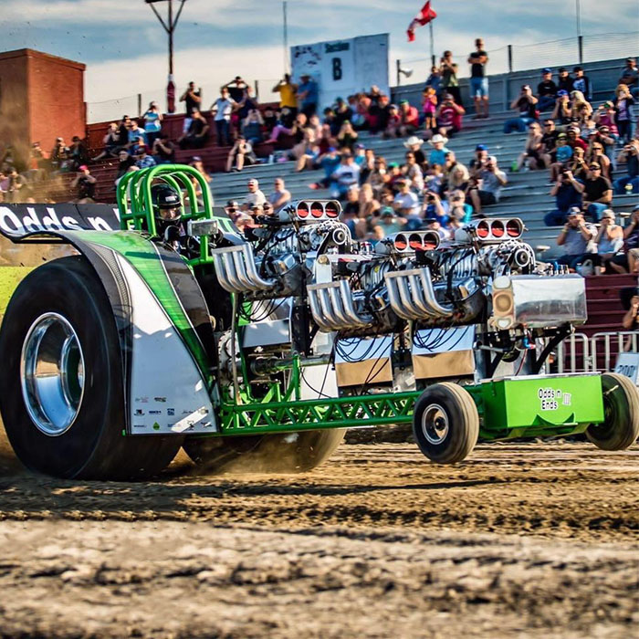 Valley Agricultural Society Manitoba Stampede Tractor Pull